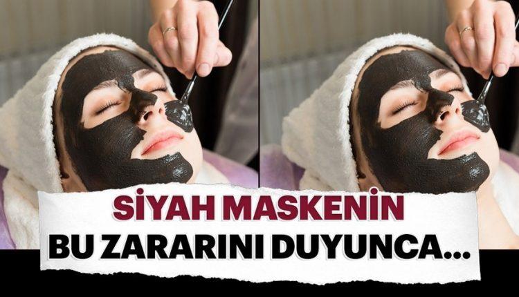 Siyah maskenin inanılmaz zararı!